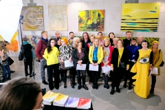 Wystawa ŻÓŁTY w Centrum Praskim Koneser, 2019 r. fot. Power of Art